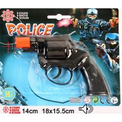 Pistolet de Police 8 Coups à Amorces