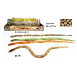 Serpent en Bois Articulé