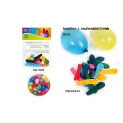 Ballons Bombe à Eau 50 Pièces