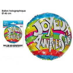 Ballon Hélium Joyeux Anniversaire