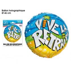 Ballon Hélium Vive La Retraite