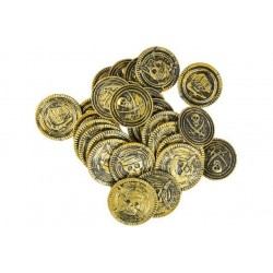 Pièces d'Or de Pirate, Sachet de 30 Pièces