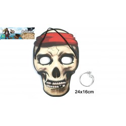 Masque de Pirate avec Boucle d'Oreille