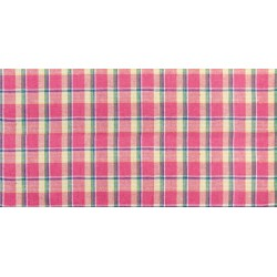 Chemin de Table Madras Rose Fuschia