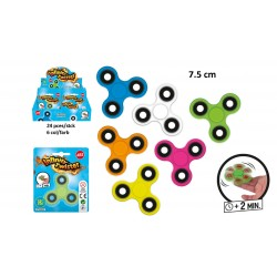 Toupie Infinity Spinner 7,5cm ABS
