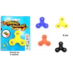 Toupie Infinity Spinner 6cm ABS