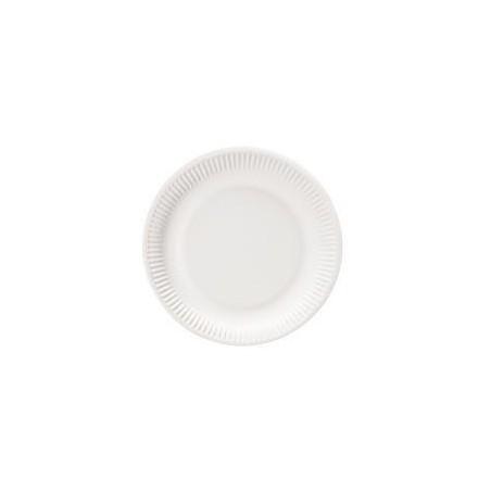 Assiettes Rondes en Carton 15cm - 100 Pièces