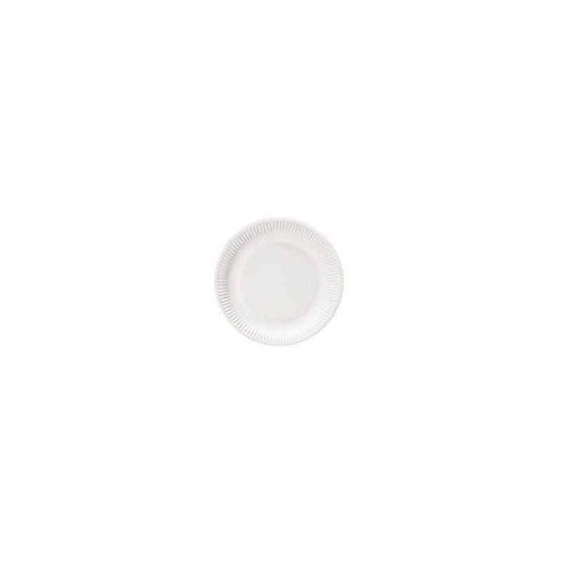 Assiettes Rondes en Carton 18cm - 100 Pièces