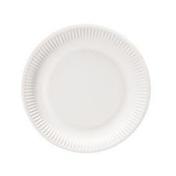 Assiettes Rondes en Carton 23cm - 100 Pièces