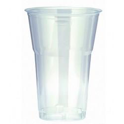 Gobelets en Plastique Transparent 50/65cl - 50 pièces