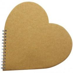 Livre d'Or Coeur à Décorer Décopatch