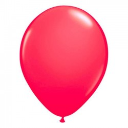 Ballons de Baudruche Fluo Rose 50 Pièces