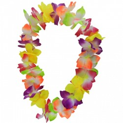 Collier Hawaï Grosses Fleurs Premier Prix