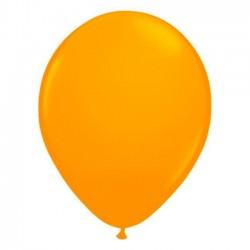 Ballons de Baudruche Fluo Orange 50 Pièces
