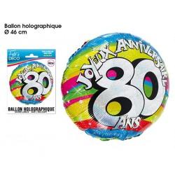 Ballon Hélium 80 Ans