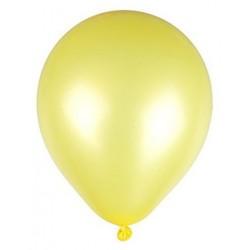 Ballons de Baudruche Métalliques Jaune