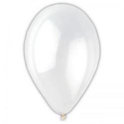 Ballons de Baudruche Métalliques Blanc