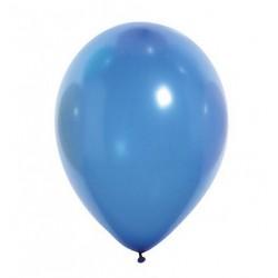 Ballons de Baudruche Métalliques Bleu Roi