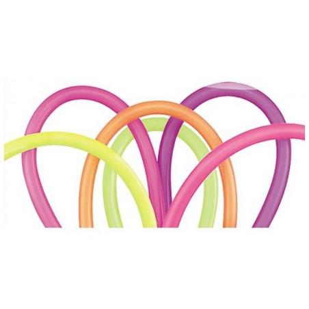 Ballons à Sculpter Multicolores Néon 100 Pièces