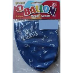 Ballon de Baudruche Géant Vive La Retraite