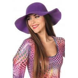 Chapeau Capeline Violet