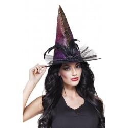 Chapeau de Sorcière Colorée