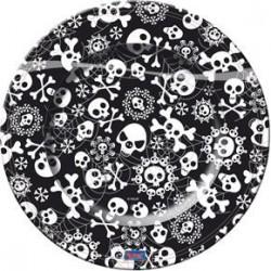 Assiettes Jetables Squelette