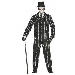 Déguisement Costume de Squelette Homme