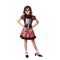 Déguisement Robe Day Of The Dead Taille 128cm
