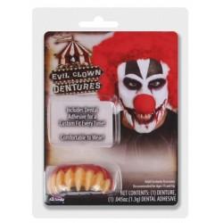 Dentier Clown Tueur Haute Qualité