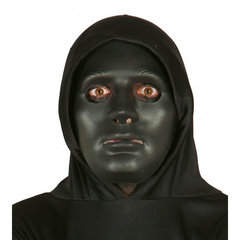 pas cher large choix de couleurs et de dessins artisanat exquis Masque Noir Rigide