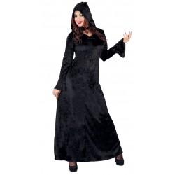 Déguisement Robe de Pretresse Noire, Taille M