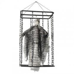 Décoration A Suspendre Animé Prisonnier En Cage