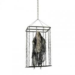 Décoration A Suspendre Animé Fantôme En Cage