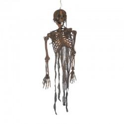 Décoration Squelette Brulé à Suspendre