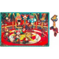 Puzzle à Encastrement Sonore Le Cirque Zapatta - Janod