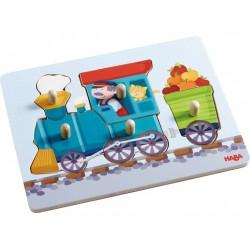 Puzzle à Encastrement Le Petit Train - Haba
