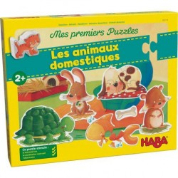 Mes Premiers Puzzles Les Animaux Domestiques - Haba