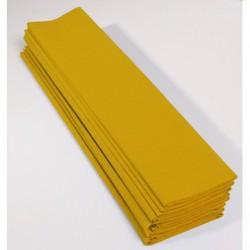 Feuille de Papier Crépon 60pourcent Jaune