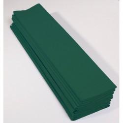 Feuille de Papier Crépon 60pourcent Vert Bouteille
