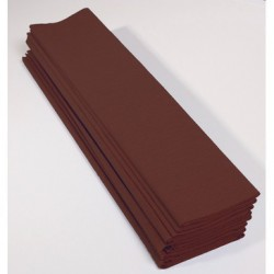 Feuille de Papier Crépon 60pourcent Chocolat