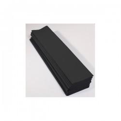 Feuille de Papier Crépon 60pourcent Noir