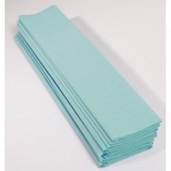 Feuille de Papier Crépon 60pourcent Turquoise