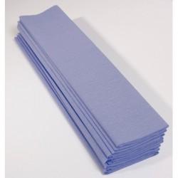 Feuille de Papier Crépon 60pourcent Bleu Ciel