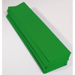 Feuille de Papier Crépon 60pourcent Vert Pré