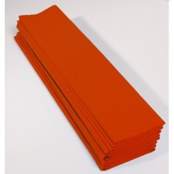Feuille de Papier Crépon 60pourcent Orange