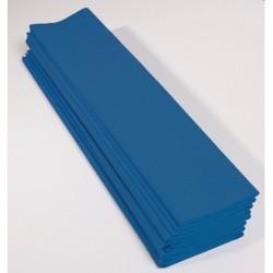 Feuille de Papier Crépon 60pourcent Bleu Pétrôle