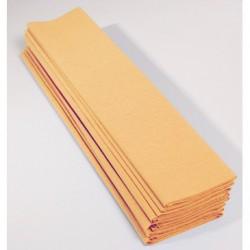 Feuille de Papier Crépon 60pourcent Abricot