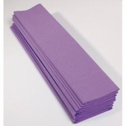 Feuille de Papier Crépon 60pourcent Mauve