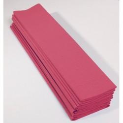 Feuille de Papier Crépon 60pourcent Rose Moyen